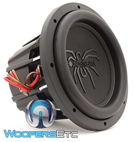 Soundstream T5.102 10″ 900 Watts RMS Dual 2-Ohm T5 Series Subwoofer