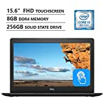 """Dell Inspiron 5000 15.6"""" Full HD Touchscreen Laptop, Intel Core i3-8130U up to 3.40GHz, 8GB Memory, 256GB Solid State Drive, Wireless-AC, Windows 10, Black 5"""