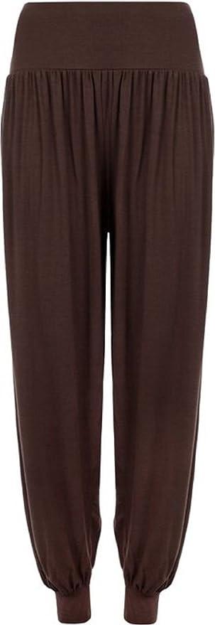 HOT HANGER Girls Harem Trousers Ali Baba Long Pants Baggy Hareem Leggings UK 7-16 yrs