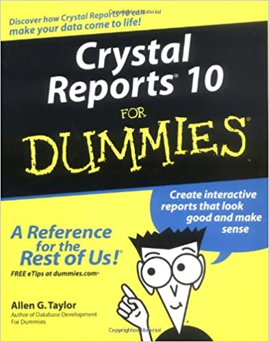 Crystal Reports Dummies