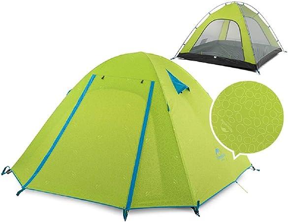Naturehike P Serie Classics Tent 210T Tela para 4 Persona NH15Z003-P