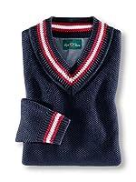 Walbusch Herren Pullover Blau Gr. 54
