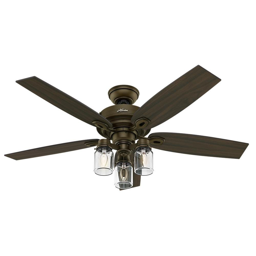 Crown Canyon 52 in. Indoor Regal Bronze Ceiling Fan by Hunter
