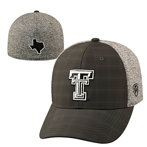 Texas Tech Red Raiders Official NCAA One Fit Season Hat by Top of the World 678863