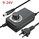 US Plug Adjustable AC/DC Adapter 9-24V 1A Power Supply Motor Speed Controller For Electric Hand Drill Motor Controller