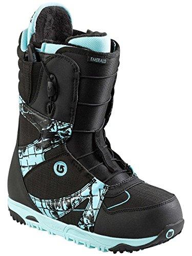 Burton Emerald Snowboard Boots Black Croc Women