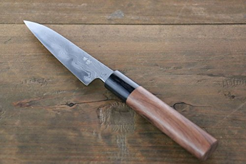 TAKAYUKI IWAI AOGAMI STEEL NO.2 FUMON SERIES PETTY JAPANESE CHEF KNIFE by Takayuki Iwai