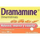 Dramamine Comprimidos, 50 mg, 24 Piezas