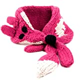 Peppercorn Kids Fox Scarf, Berry, One Size