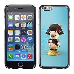 "For Apple Iphone 6 Plus / 6S Plus ( 5.5 ) , S-type Figura divertida"" - Arte & diseño plástico duro Fundas Cover Cubre Hard Case Cover"
