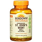 Sundown Naturals Standardized St. John's Wort Capsules 150 ea (Pack of 2) Review