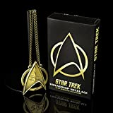 Quantum Mechanix Star Trek Friendship Necklace