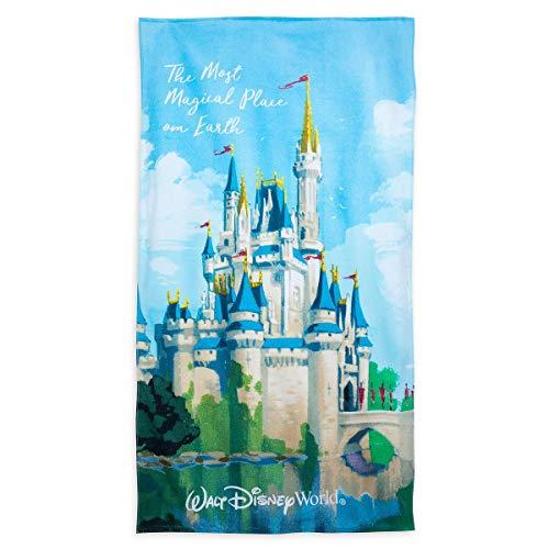 Disney World Cinderella Castle Beach Towel