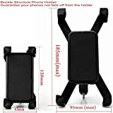 Bike Phone Mount, DHYSTAR Mobile Cell phone Bicycle