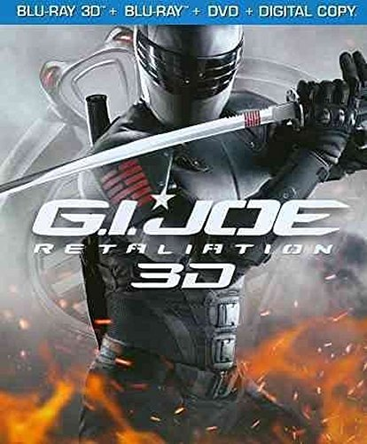 G.I JOE RETALIATION 3D BLU-RAY + BLU-RAY + DVD [COMBO-PACK]