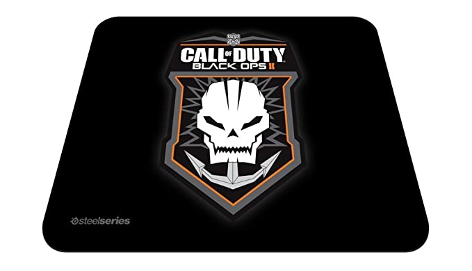 SteelSeries Qck COD reg; Black Ops II Badge Mouse Pads