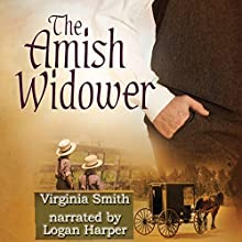 The Amish Widower: The Men of Lancaster County Audiobook by Virginia Smith Narrated by Logan Harper