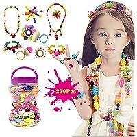 BigNoseDeer Niños Joyería Arte Pop Beads DIY Kit