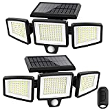 Solar Lights Outdoor,ATUPEN 210 LED 2500LM Motion