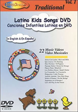 Latino Kids Songs DVD