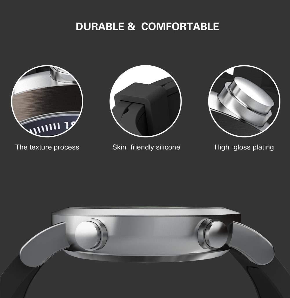 Herrklockor smart armband långt standby vattentätt avstånd mätklocka Silvergrått
