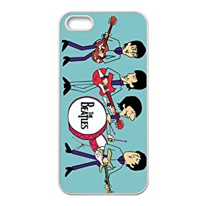 Cartoon The Beatles Fashion Comstom Plastic case cover For Iphone 5s