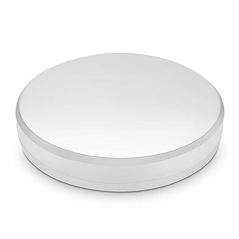 Lamparas de Techo LED 15W IP44 1600lm Plafón LED Moderno Redondo Blanco frío 6000K para Habitacion Cocina Comedor Pasillo Redondo Salón Baños ...