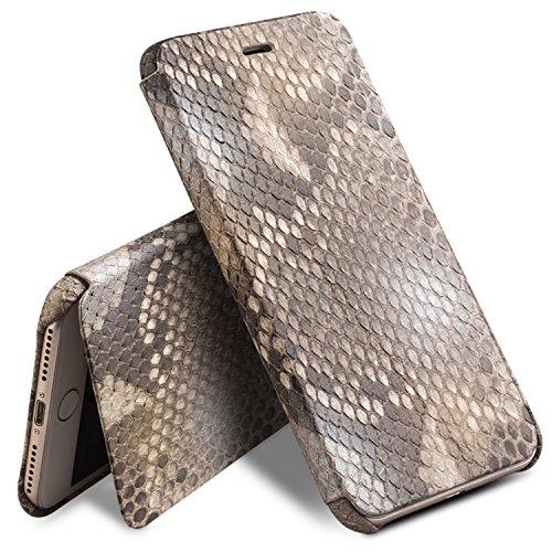 iPhone 8 Plus Case, iPhone 7 Plus Case, QIALINO Unique Style Genuine Leather Cover Flip Sleeve for Apple iPhone 8Plus / 7Plus by QIALINO (Image #2)