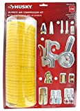 Husky 16 Piece 1/4 NPT-Threaded Air Compressor Accessory Kit for Inflating, Cleaning,