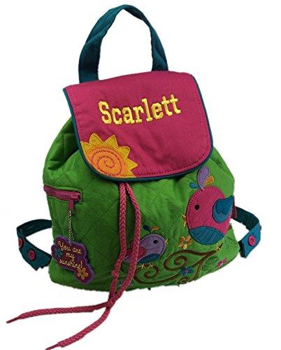 Personalizado mariposa mochila/mochila. Gran regalo para niños de vuelta a la escuela infantil