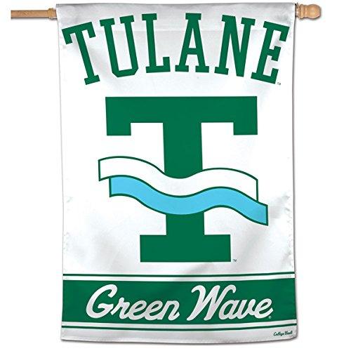 Tulane Green Wave Vault Throwback Retro Vintage House Flag ()
