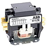 ABB, DP40C2P-1, 2 Pole, 40 Amps, 120VAC Coil, Definite Purpose Contactor