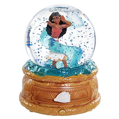 Disney Moana's Musical Water Globe & Jewelry - Box Snow Music Globe