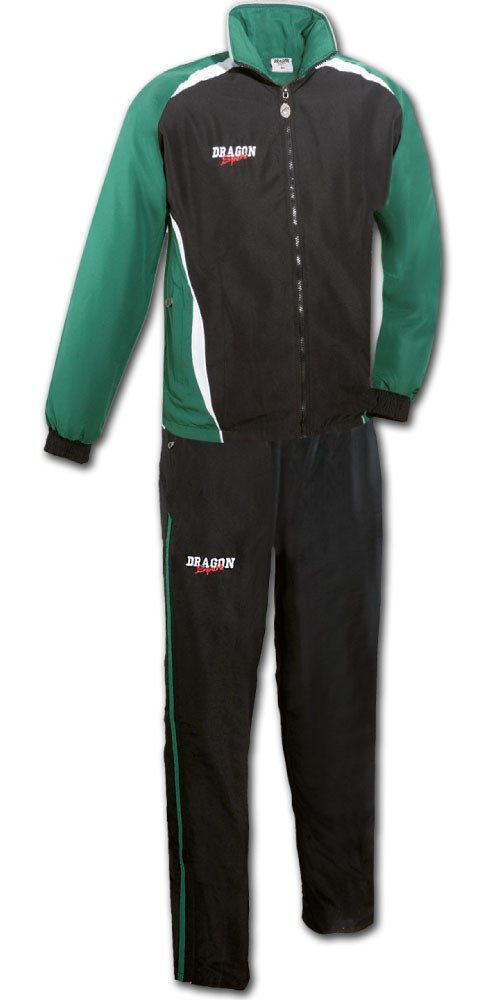 DragonSport – Chándal Chelsea, color verde/negro, tamaño small ...