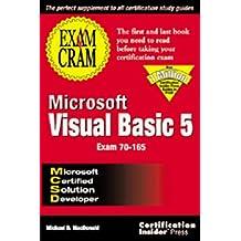 Mcsd Microsoft Visual Basic 5 Exam Cram by Michael MacDonald (1998-02-26)