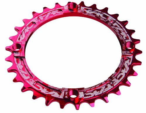 Xc Ring (Race Face 104mm Single Narrow Wide Chain Ring 32T RED XC Trail AM)