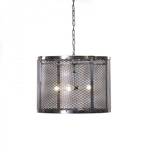Amazon.com: zentique metal reciclado para – Lámpara de techo ...