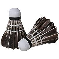 12 PCS/Set avancée de Plumes d'oie Badminton Stable à Haute Vitesse Volants Durable Badminton Birdies Balles Noir