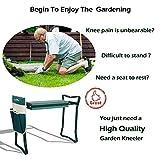 LUCKYERMORE Garden Kneeler and Seat Folding