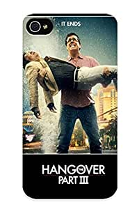 Iphone 4/4s Case Cover - Slim Fit Tpu Protector Shock Absorbent Case (the Hangover Part Iii)