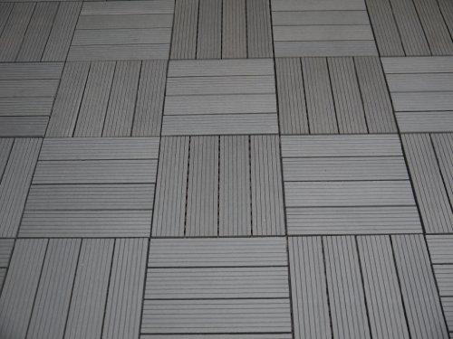 Wpc Terrassenplatten gartenfreude dalles massives pour terrasse everfloor en wpc bois