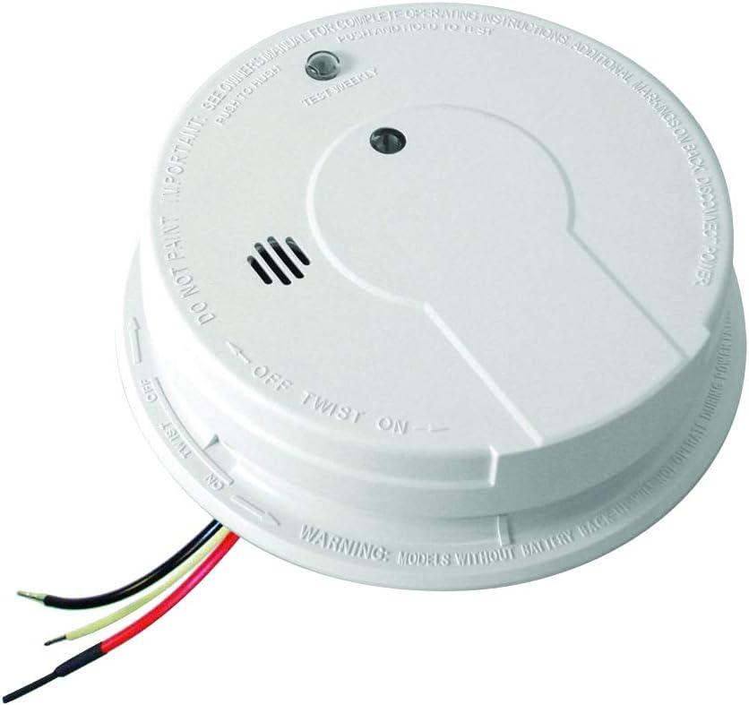 [SCHEMATICS_48YU]  Kidde i12040 120V AC Wire-In Smoke Alarm with Battery Backup and Smart Hush  - Smoke Detectors - Amazon.com | 12 Volt Backup Alarm Wiring Diagram |  | Amazon.com