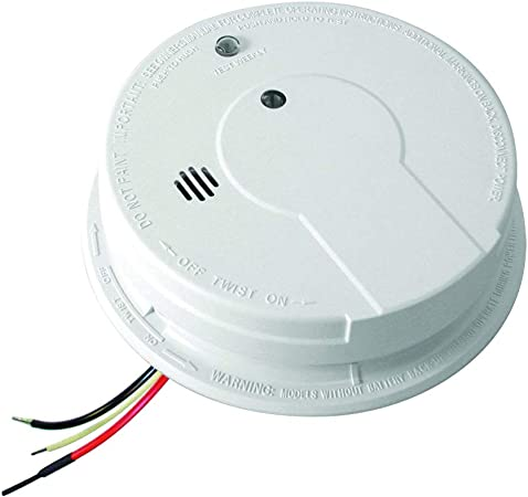 Kidde I12040 120v Ac Wire In Smoke Alarm With Battery Backup And