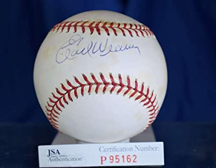 ebf6c03d074 Earl Weaver Autographed Ball - American League Authentic - JSA Certified - Autographed  Baseballs