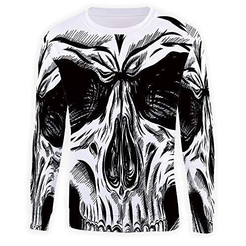 MOOCOM Athletic Men's Halloween Sweatshirt]()