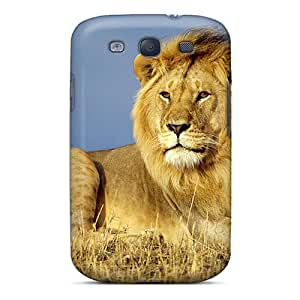 Fashionable TcSOy72 Galaxy S3 Case Cover For Majestic King Protective Case