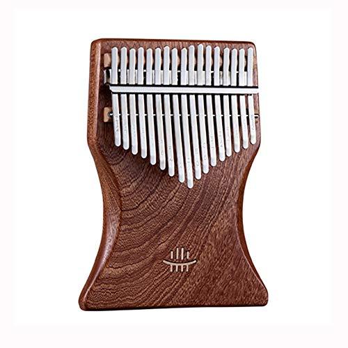WXJHA Kalimba 17 Keys Thicken 2Cm Plate Type Thumb Piano Rosewood Mbira Sapele Calimba Musical Instruments for Kids Adult Beginners