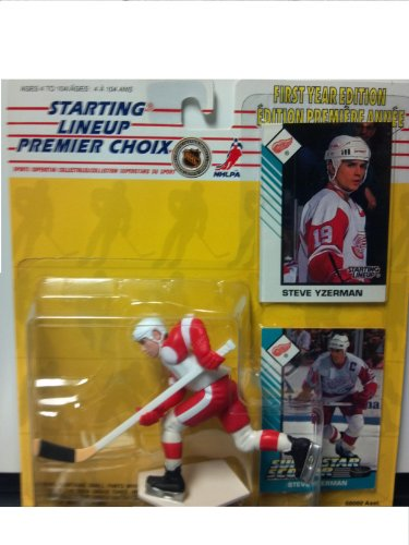 1993 Steve Yzerman Detroit Red Wings Kenner SLU Starting Lineup NHL Hockey figure