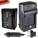 BM Premium VW-VBT190 Battery and Battery Charger for Panasonic HC-V210, HC-V250, HC-V380, HC-V510, HC-V520, HC-V550, HC-V710, HC-V720, HC-V750, HC-V770, HC-VX870, HC-VX981, HC-W580, HC-W850, HC-WXF991