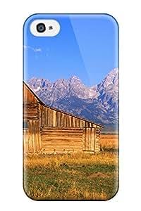 CaseyKBrown Iphone 4/4s Hybrid Tpu Case Cover Silicon Bumper Panoramic wangjiang maoyi